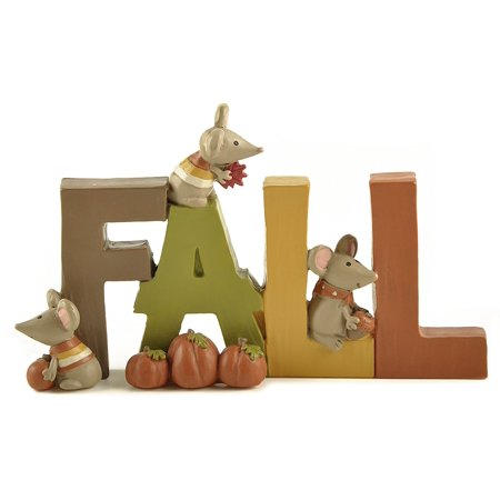 Fall W/Pumpkins/Mice Home Décor, It is Great Gift for Home Decor By Blossom