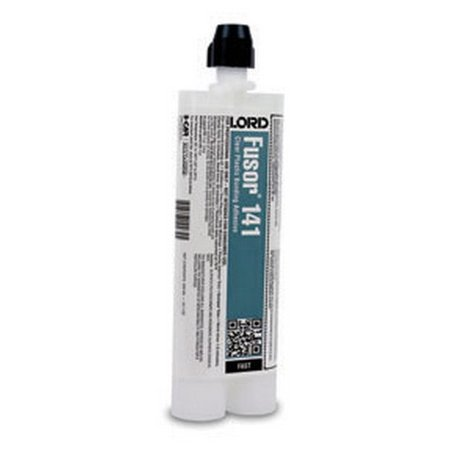 Lord Fusor 141 Clear Plastic Structural Installation Adhesive (Fast-Set), 10.1 - Clear Plastic Self Adhesive