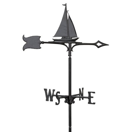 Whitehall 30 in. Sailboat Rooftop Weathervane Eagle Rooftop Weathervane