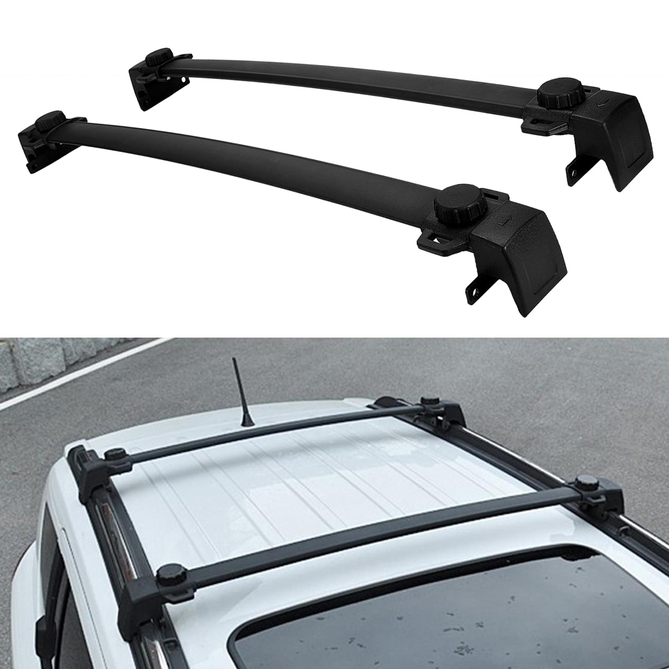 Roof Rack For Jeep Compass Cross Bar 2017 2018 Luggage Roof Bar OE Style