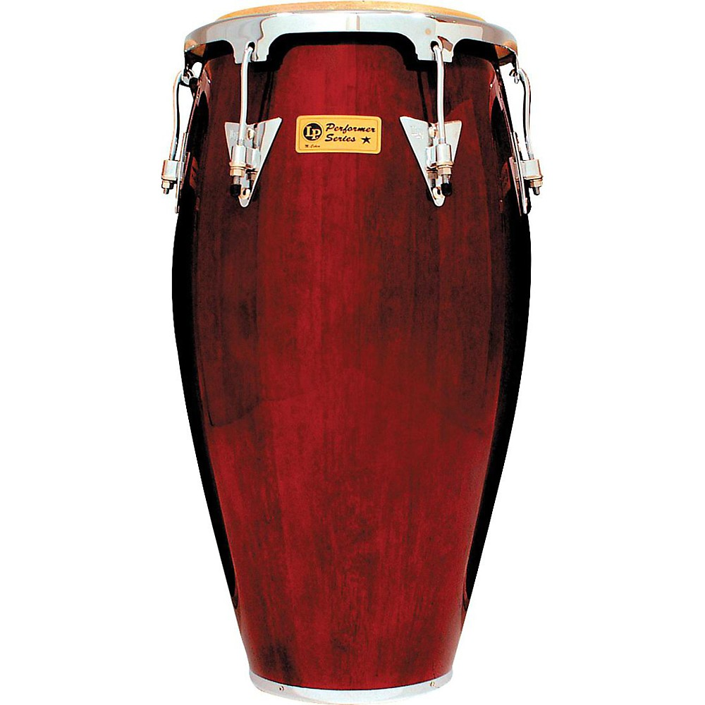 LP Performer Series Conga with Chrome Hardware 12.5 in. Tumba Dark Wood