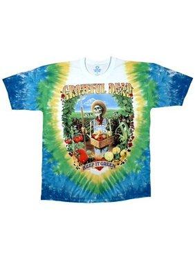 329243db5 Product Image Grateful Dead Let It Grow Tie-Dye T-Shirt. Liquid Blue