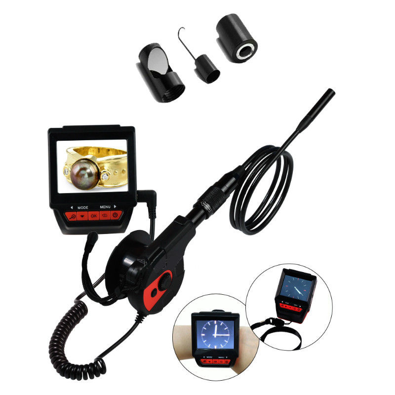 """2.4""""LCD Video Inspection Camera Endoscope Dia 8.5mm 6 LED..."""