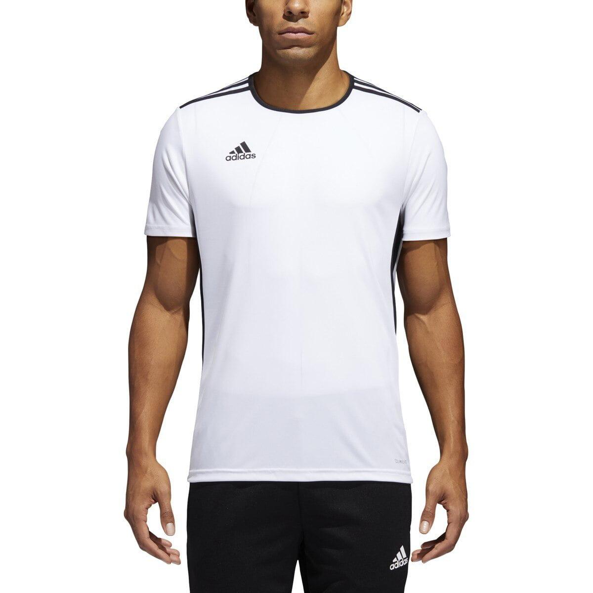 Adidas Entrada Adult Soccer Jersey CD8438 - White, Black - Walmart.com