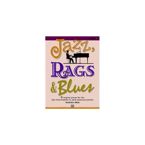 Alfred 00-32715 Jazz- Rags & Blues- Book 5 - Music Book