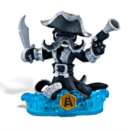 Skylanders SWAP Force Character Dark Wash Buckler (Includes Trading Card and Internet Code, no retail (Glow In The Dark Rattle Shake Skylanders)