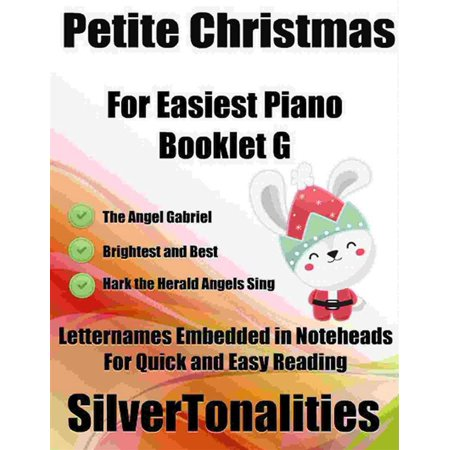 Christmas Booklet Pane (Petite Christmas for Easiest Piano Booklet G - eBook )