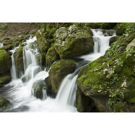 Acrylic Face Mounted Prints Nature Water Fall Waterfall Landscape River Print 20 x 16. Worry Free Wall Installation - Shadow Mount is Included. Waterfalls Screensaver Free