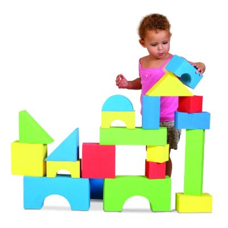 Edushape Big Educolor Blocks 32 Pc by Edushape