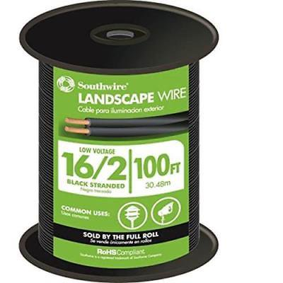 Landscape Wire - Moonrays 100ft 16/2 Low Voltage Landscape Wire