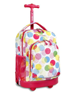 J World Sunny Rolling Backpack