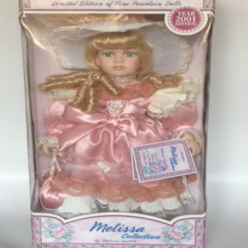 Melissa Collection Limited Edition 2001 Porcelain Dolls