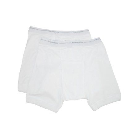 Men's Big and Tall Ribbed Knit Boxer Briefs,  -