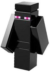 Lego Minecraft Enderman Microfigure by