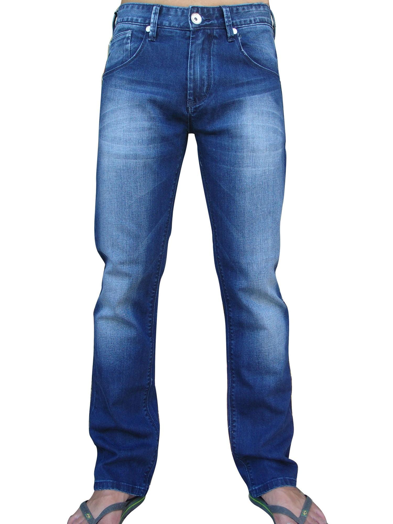StoneTouch Men's Regular Fit Jeans 301-30s