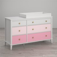 Little Seeds Monarch Hill Poppy 6-Drawer Changing Table, Choose Color