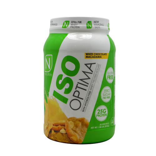 Nutrakey Iso Optima, White Chocolate Macadamia, 2.3 lbs
