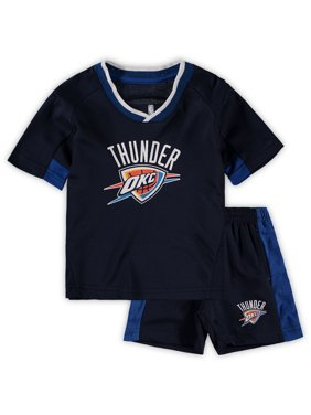 290a6cbe Product Image Oklahoma City Thunder Preschool & Toddler Double Dribble  T-Shirt & Shorts Set - Navy. Outerstuff