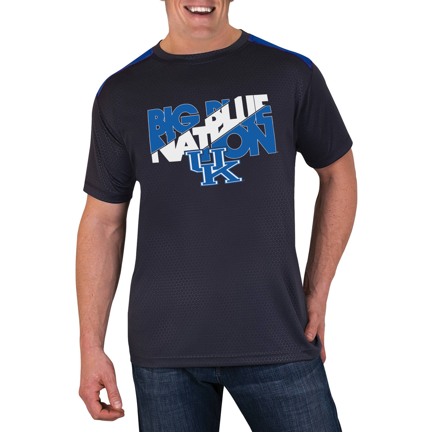 NCAA Kentucky Wildcats Men's Athletic-Fit Impact T-Shirt