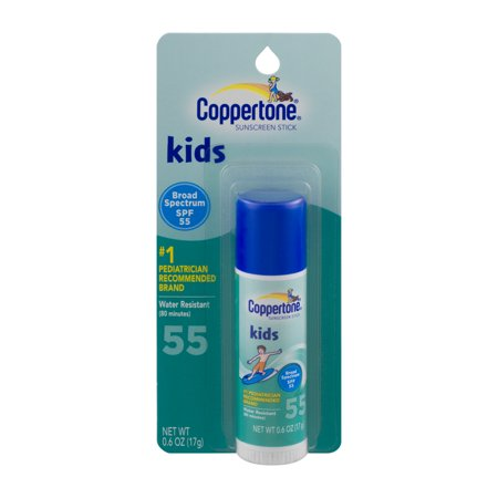Coppertone Kids Sunscreen Stick Spf 55  0 6 Oz