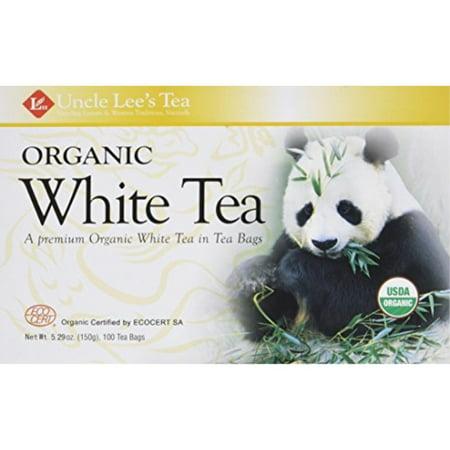 Legends of China Organic White Tea 100 Bags (Pack of 2) Chinese White Tea