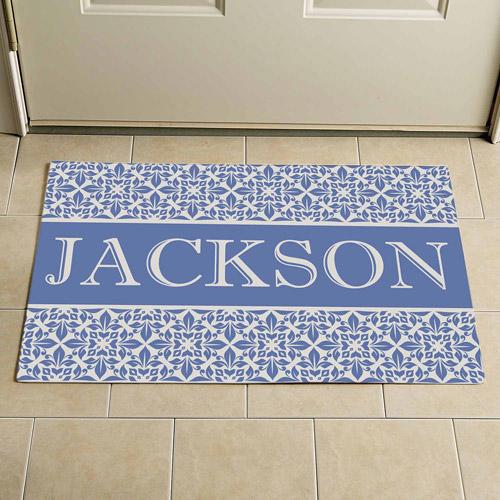 "Personalized Elegant Family Doormat, 24"" x 36"""