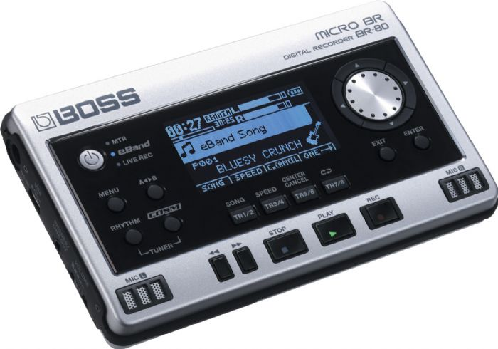 Boss Audio BOSSBR80 Micro Br Br-80 Ultimate New Portable Recording & Jam-along Tool For... by Boss Audio