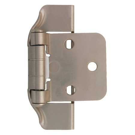 Liberty Hardware Semi-Wrap Overlay Hinge - Set of 2