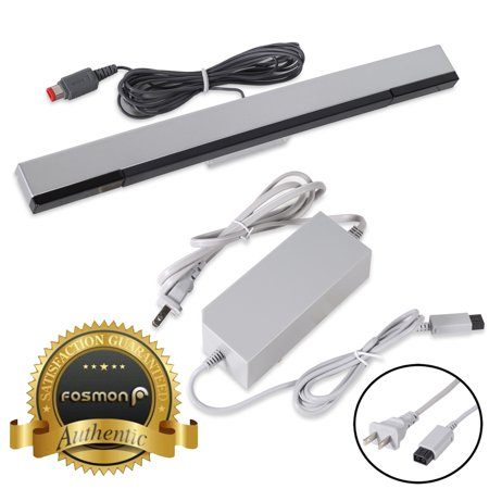 fosmon nintendo wii bundle ac wall power supply cable plug. Black Bedroom Furniture Sets. Home Design Ideas