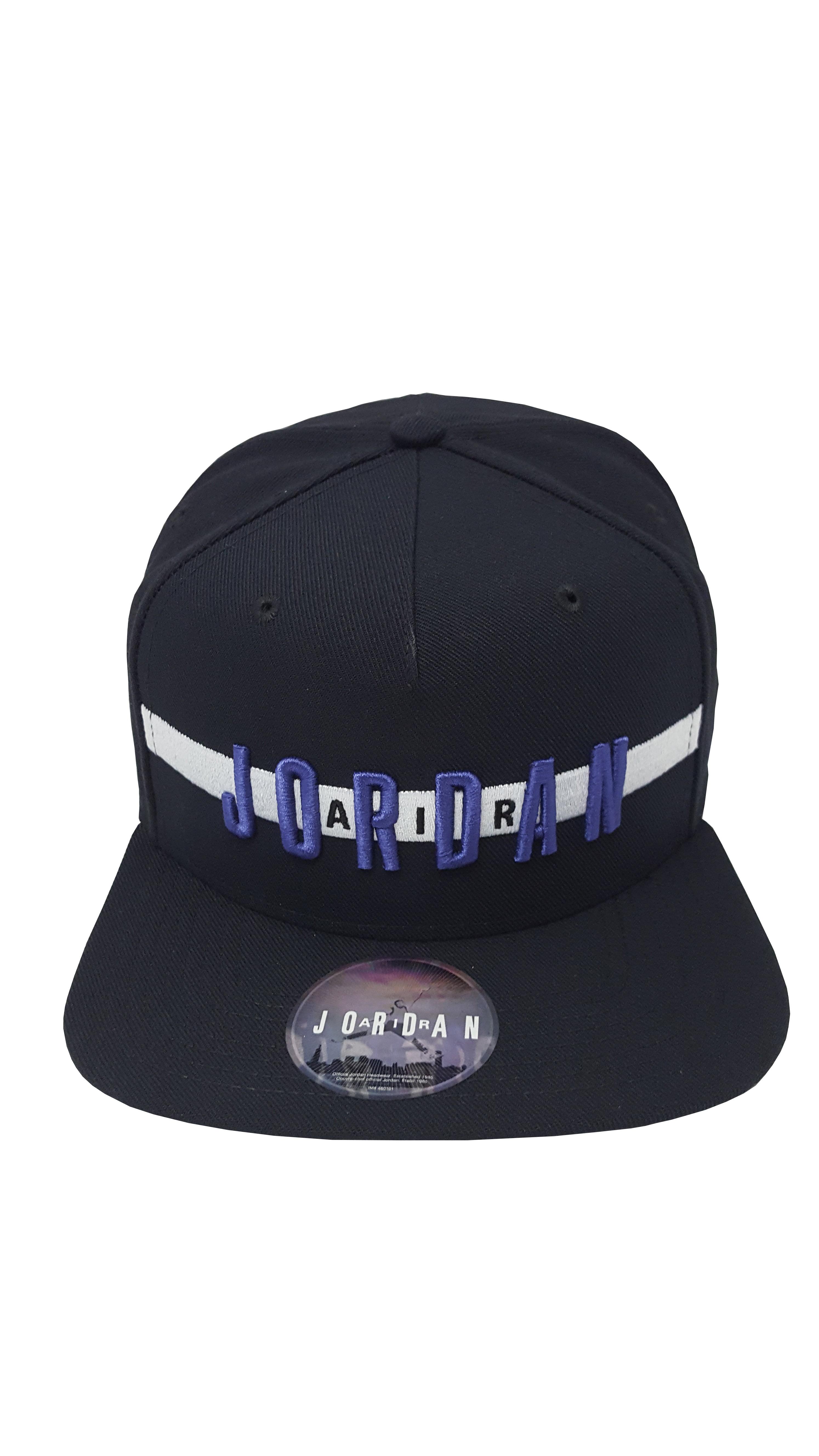 2484598dc49b65 ... nike nike jordan air snapback hat black concord adjutable fit walmart.  com