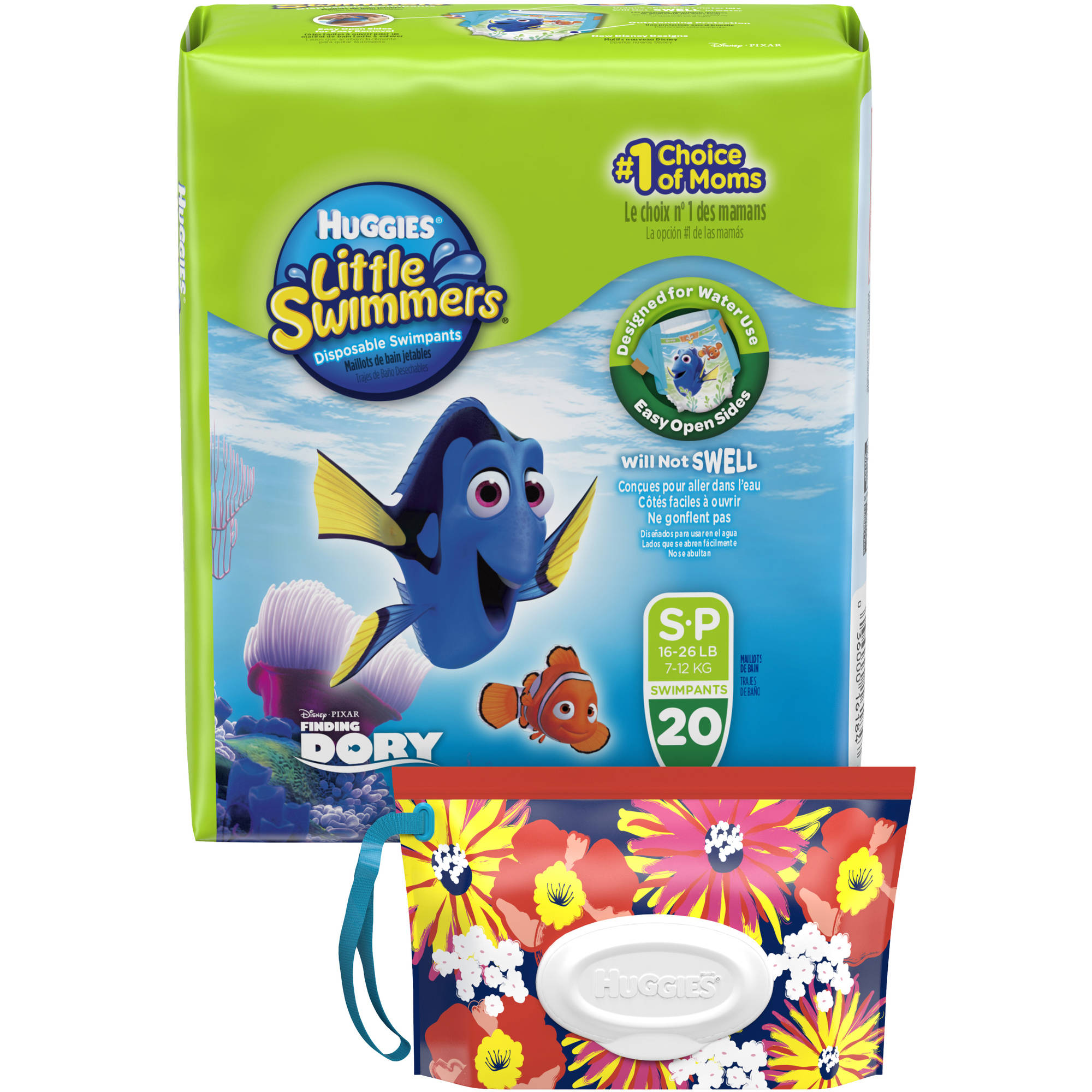 HUGGIES Little Swimmers Disposable Swimpants, (Choose Your Size)