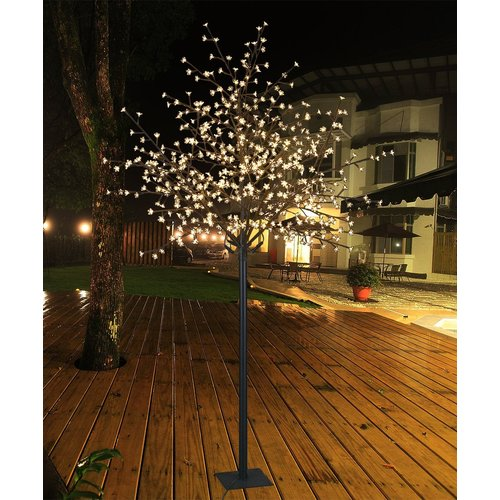 Lightshare 600L 8.5FT Cherry Blossom tree with warm white lights