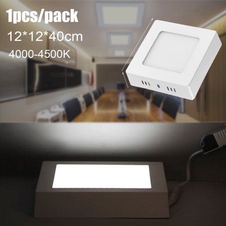 6W 5inch LED Ceiling Down Light Square Panel Lamp Surface Mounted Neutral