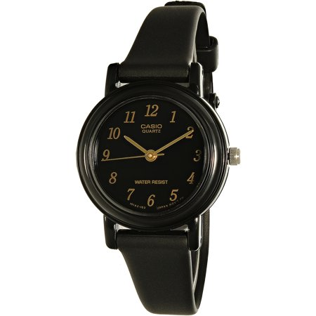 Casio Women's Core LQ139A-1 Black Resin Quartz Fashion Watch