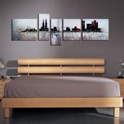 The Lighting Store 'The City' 5-piece Gallery-wrapped Hand Painted Canvas Art Set