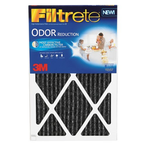 3M HOME00-4 Home Odor Reduction Filters - 4 Pack