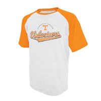 Men's Russell Athletic White Tennessee Volunteers Big Athletic Fit Distressed T-Shirt