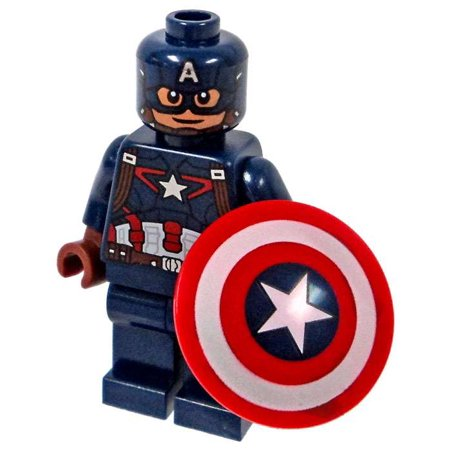 Lego marvel captain america civil war captain america minifigure - Lego capitaine america ...