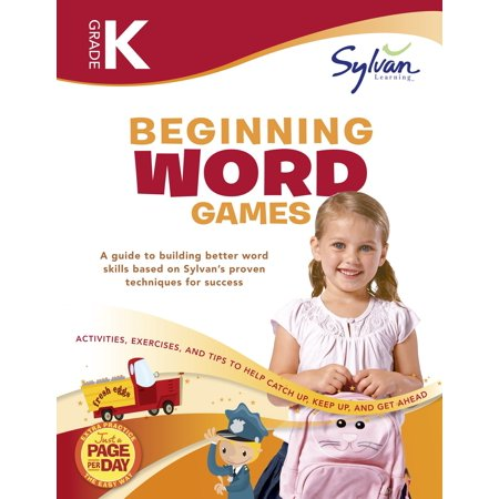 Kindergarten Beginning Word Games Workbook : Activities, Exercises, and Tips to Help Catch Up, Keep Up, and Get