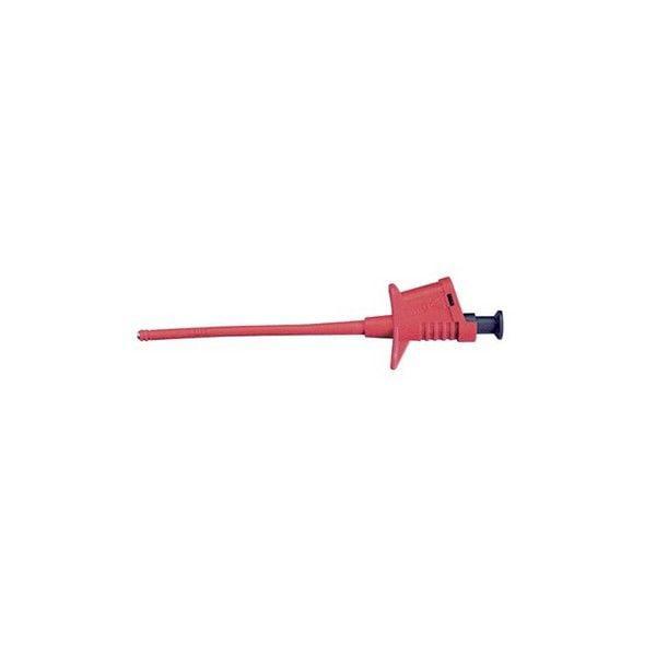 TENMA 76-060 Safety Pincer Flex Clip-Red