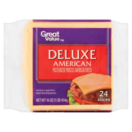 Great Value Deluxe American Pasteurized Process American ...