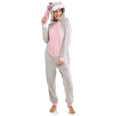 Peace Love & dreams Women's Character Union Suit Bunny