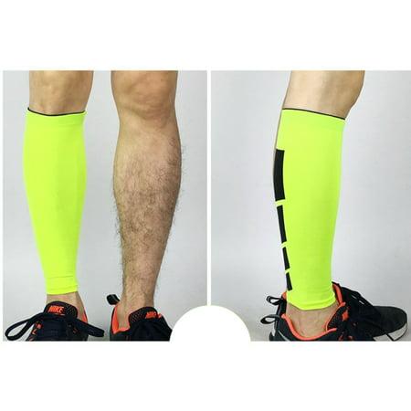 b4754433b0 1Pcs Compression Leg Sleeves, Calf Sleeve, Calf Guard for Basketball,  Football, Running, Cycling Color:Green Size:M - Walmart.com