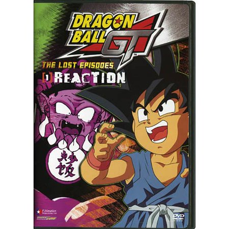 Funimation Dragon Ball Gt V01-lost Episodes-reaction [dvd] [uncut]