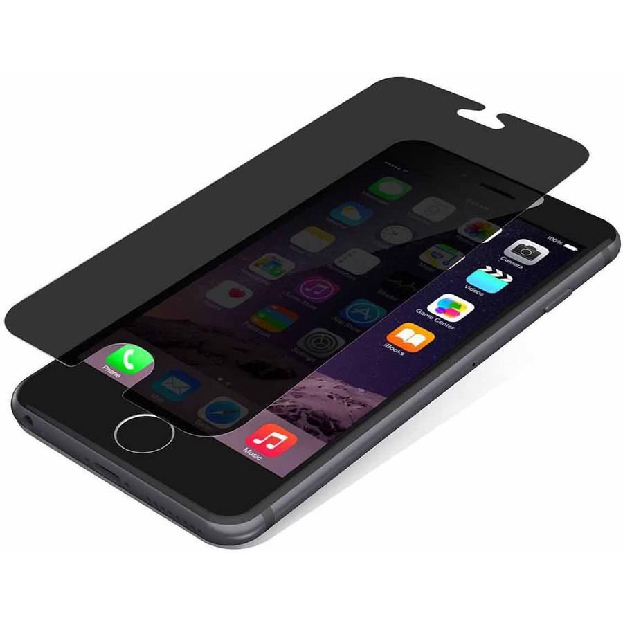 Zagg Invisibleshield Apple Iphone 6 Privacy Glass Walmart Com