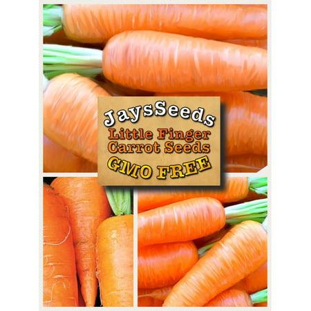Organic Little Fingers Carrot Seed Packet (Carrot Finger Food Halloween)