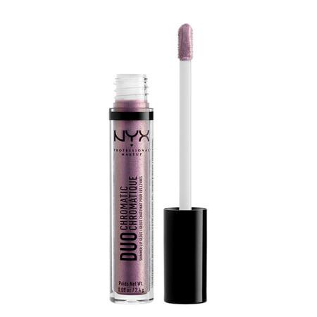 NYX Professional Makeup Duo Chromatic Lip Gloss, Gypsy Dream