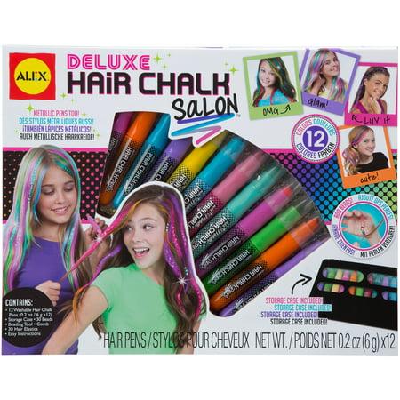 Image of Alex 76pc Spa Deluxe Hair Chalk Salon