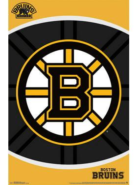 Boston Bruins 22'' x 34'' Logo Team Poster