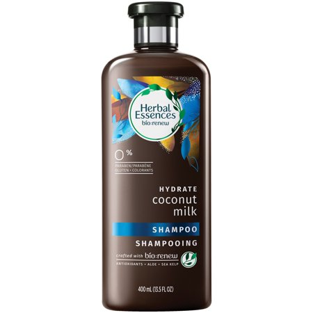 Vo5 Moisture Milks Shampoo - Herbal Essences Bio:renew Coconut Milk Shampoo, 13.5 Fl Oz